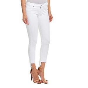 Lucky Brand Lolita Step Hem Skinny Jeans
